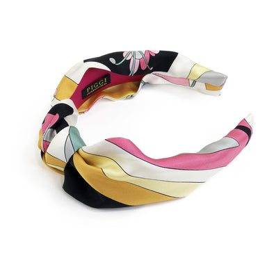 Knot Headband made from Vintage Emilio Vibrant Pucci Scarf