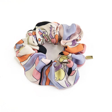 Scrunchie made from a Vintage Emillio Pucci Scarf in Vintage Floral