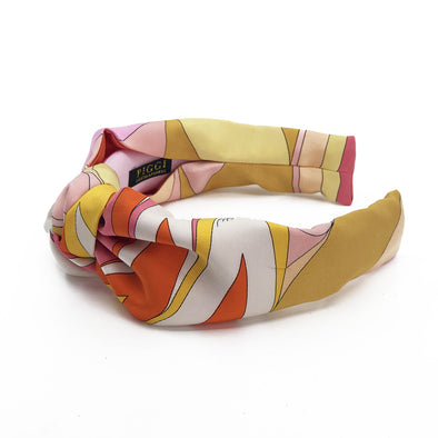 Knot Headband made from Emilio Pucci Scarf