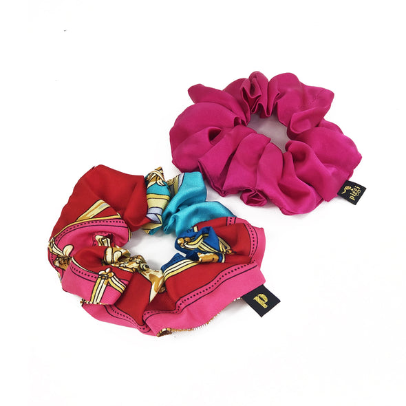 Piggi Scrunchie Duo 'Riding with the Cavalry'