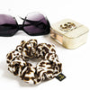 Wild Cat Silk Scrunchie by Piggi International