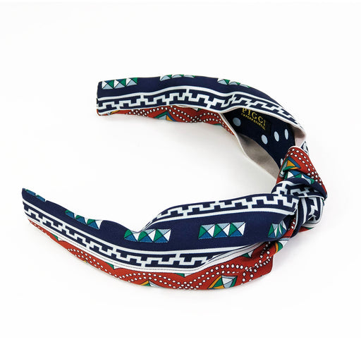 Vintage Hermès Scarf Headband made from 'Colliers de Chiens'