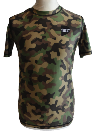 Rash Guard Camouflage Funktionsshirt - Greenhillsports-de