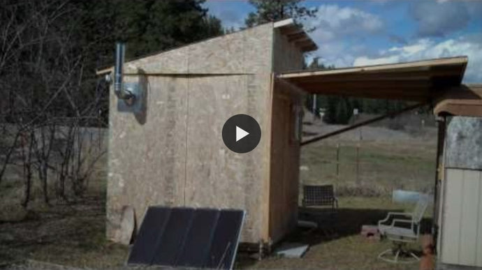"""Micro-Homestead"" This Modest Survival Shelter Could Save Your Life When It's Time to Bug Out"
