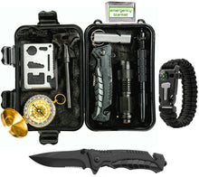 Global Tactical Gear Survival Kit with Knife
