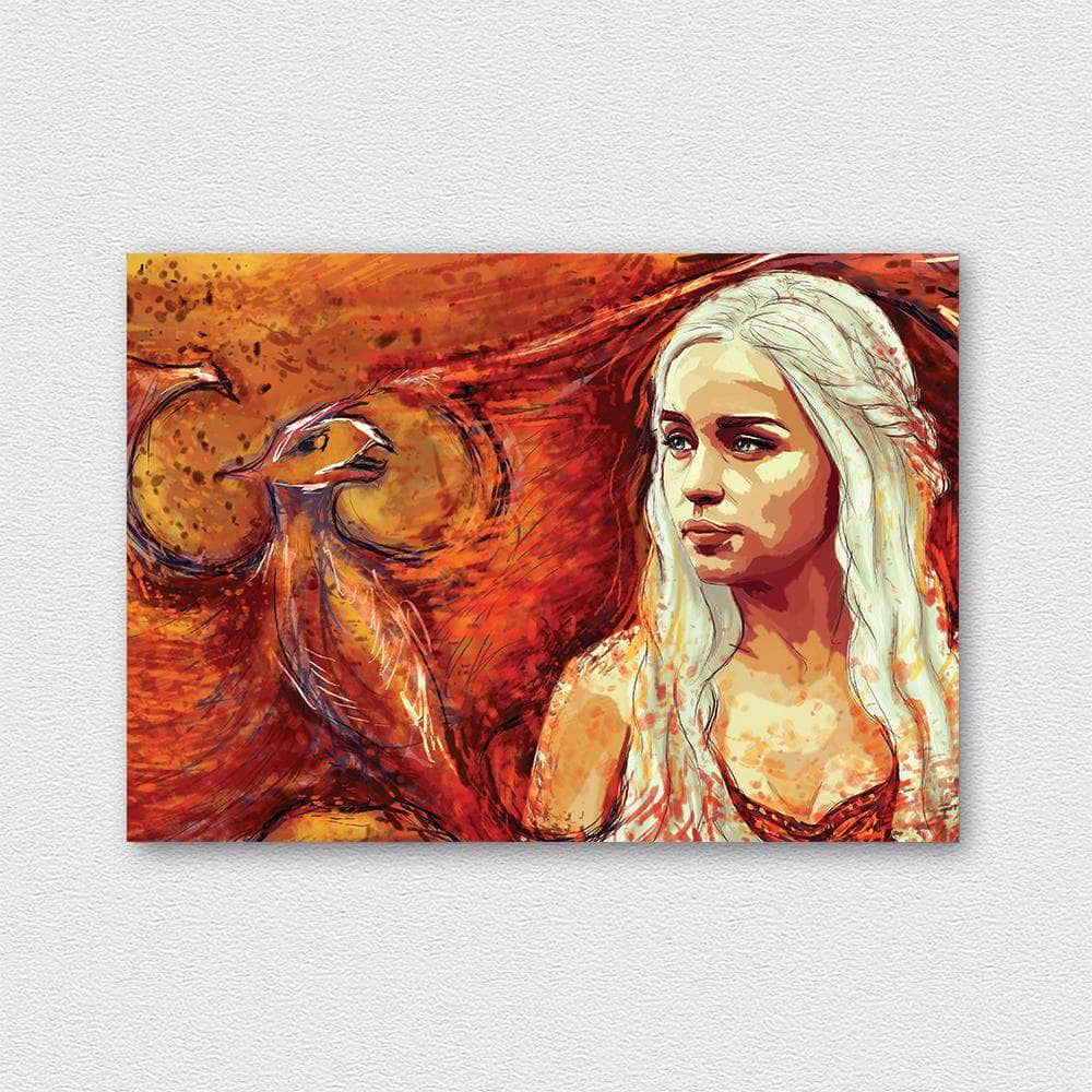 Daenerys fémposzter - CoolDisplay