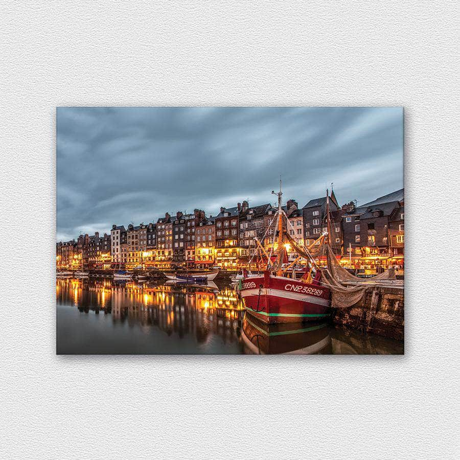 Bay - Honfleur, French