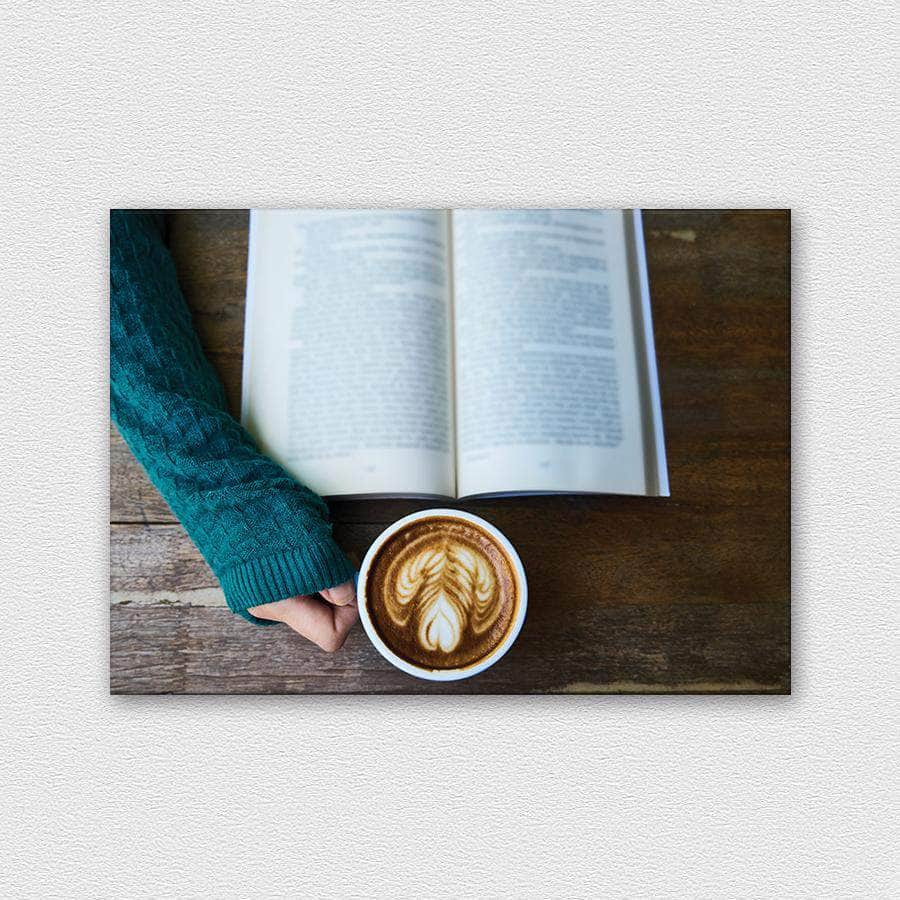 Just a book, coffe nothing more