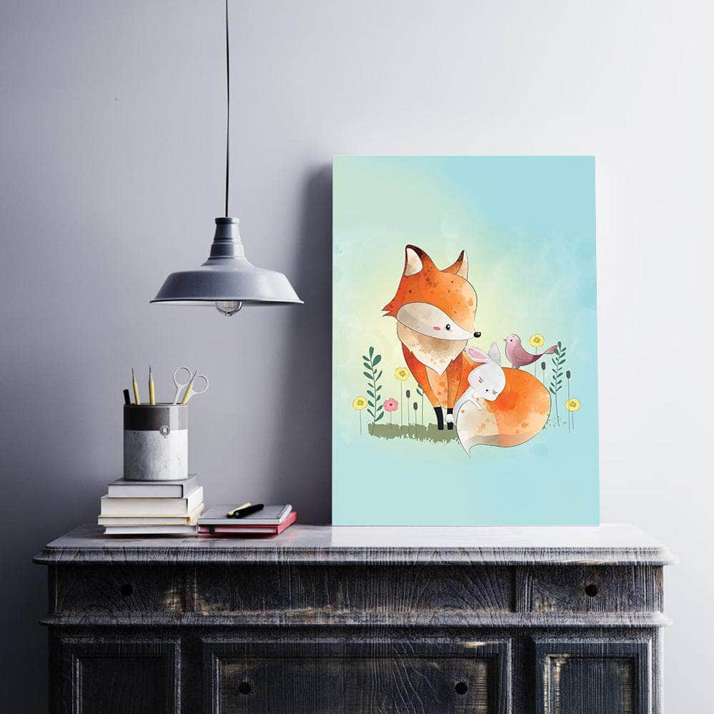 Fox and bunny