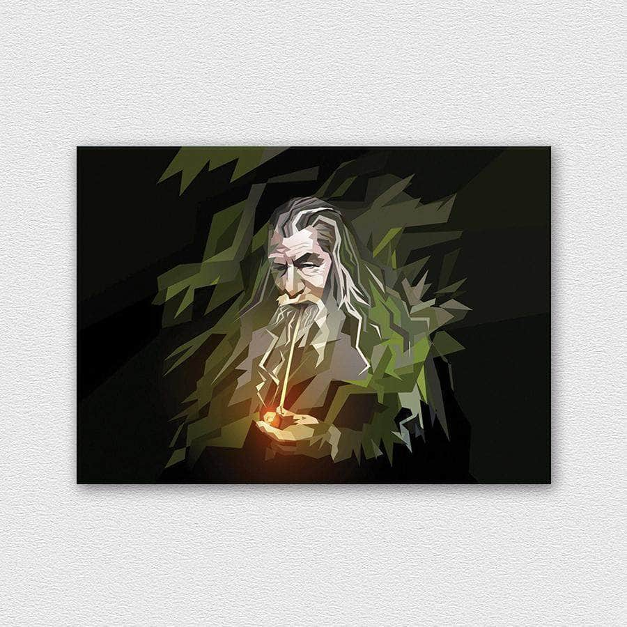 Abstract Gandalf - The Lord Of The Rings