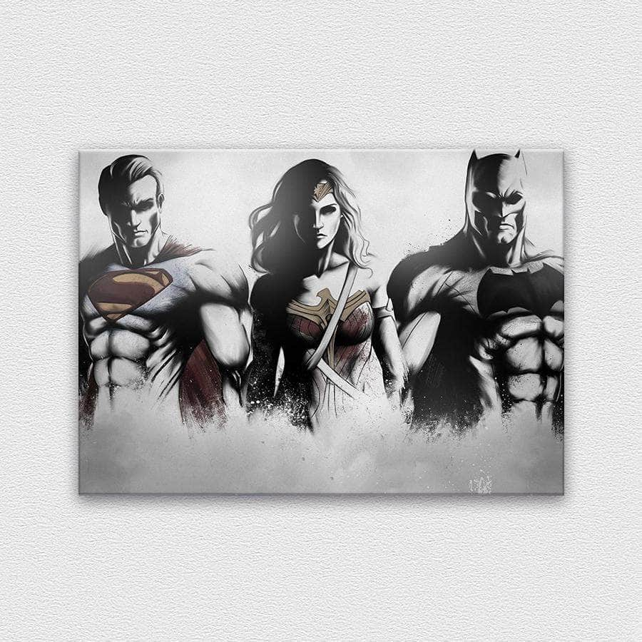 Justice league drawing