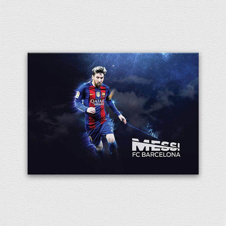 Messi in the sky