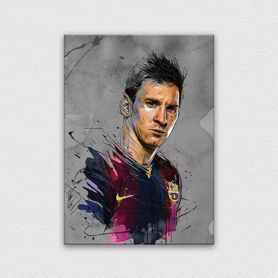 Messi - Painting