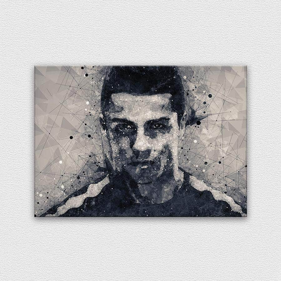 Ronaldo - Shapes collection B&W