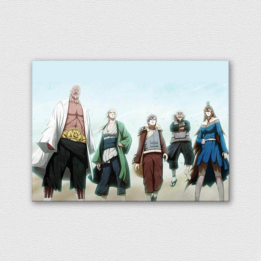 Five Kages - Naruto