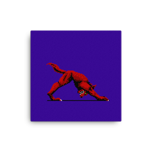 Load image into Gallery viewer, Downward Facing Werewolf - Canvas Print
