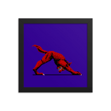 Load image into Gallery viewer, Downward Facing Werewolf - Framed Print