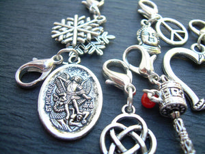 Lobster Clasp Charms, 3 for 11.99 , Pendants,  Assorted  Three Pieces, Mens Jewelry, Womens Jewelry, - Urban Survival Gear USA