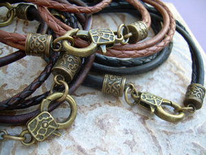 Triple Wrap Infinity Leather Bracelet with Antique Bronze Hardware, Infinity Bracelet, Infinity, Infinity Jewelry,Leather Bracelet,Bracelet,