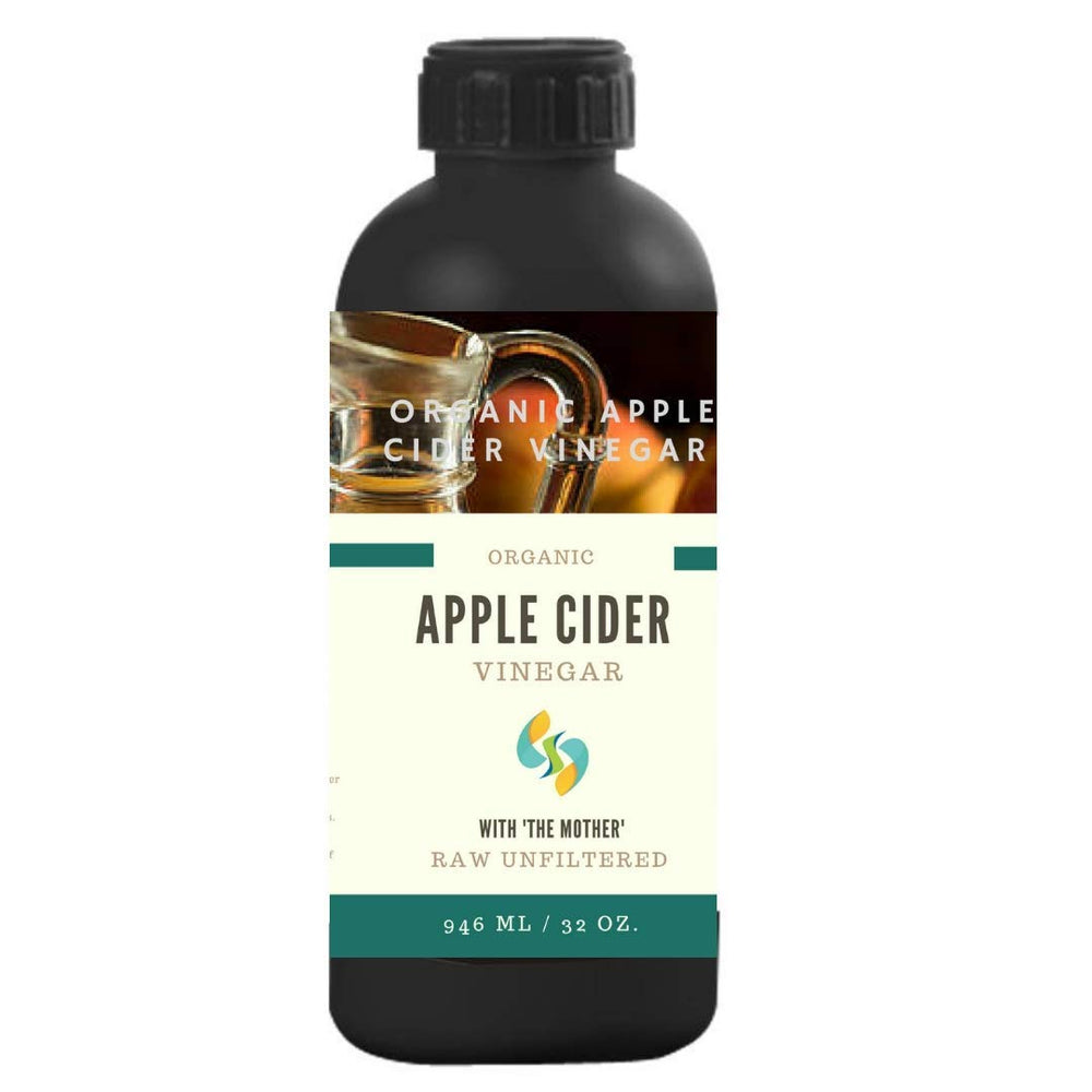 Organic Apple Cider Vinegar - SHARRETS NUTRITIONS