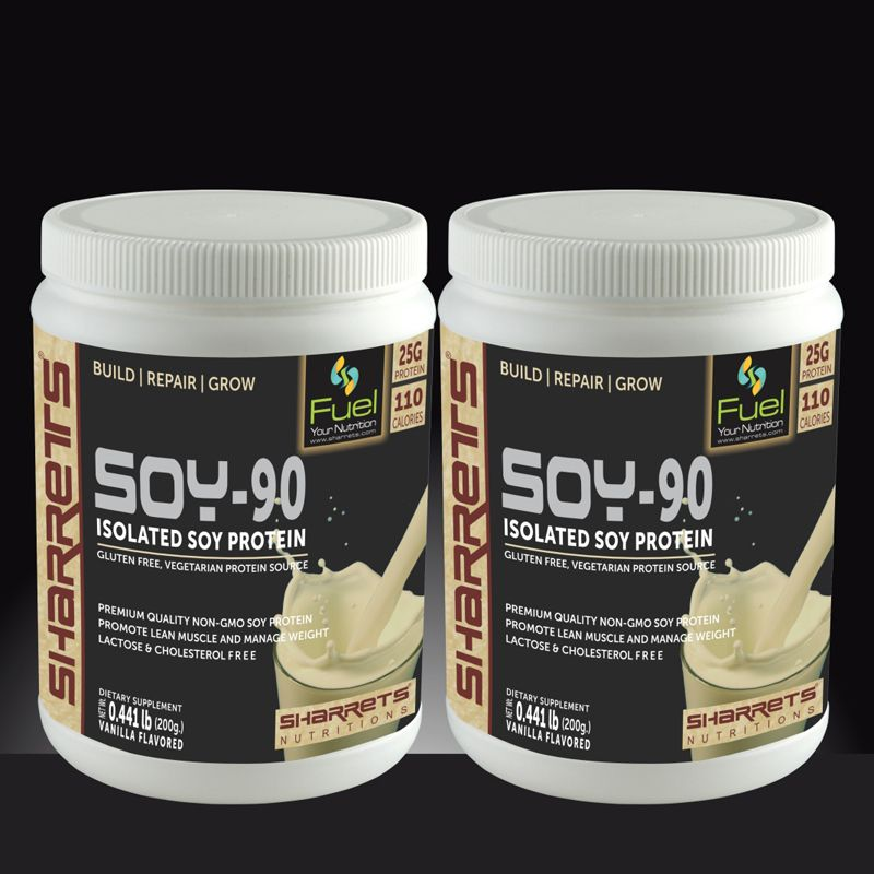 Soy protein Isolate 90 - SHARRETS NUTRITIONS