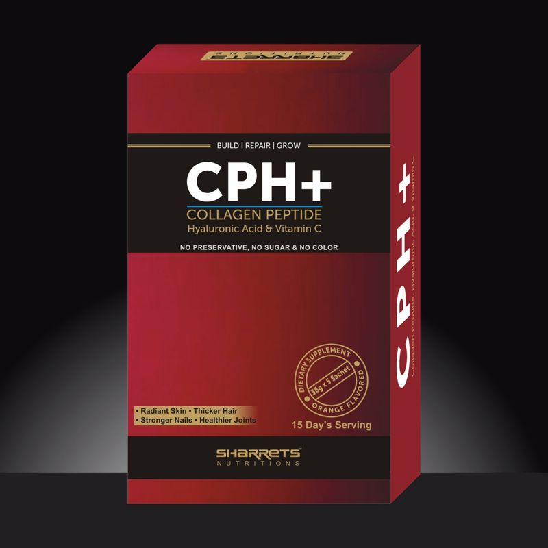 CPH+ Fish Collagen with hyaluronic acid vitamin c - SHARRETS NUTRITIONS