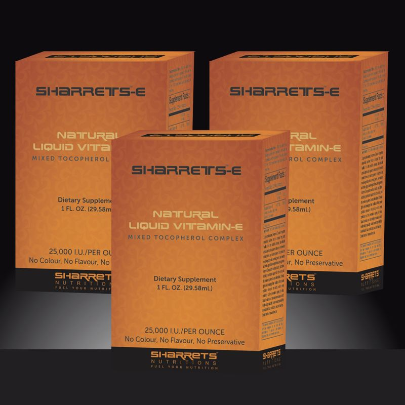 NATURAL LIQUID VITAMIN E - SHARRETS NUTRITIONS