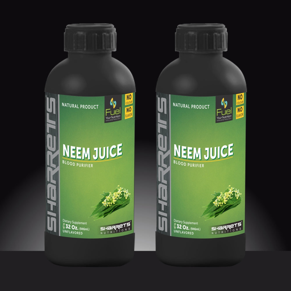 NEEM JUICE नीम जूस - SHARRETS NUTRITIONS