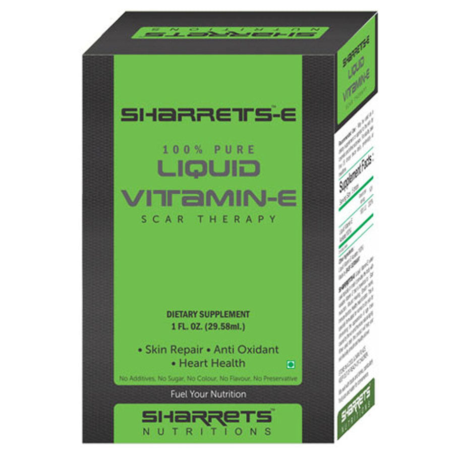 Liquid Vitamin E Acetate - SHARRETS NUTRITIONS