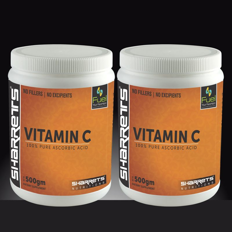 l ascorbic Vitamin C powder - SHARRETS NUTRITIONS