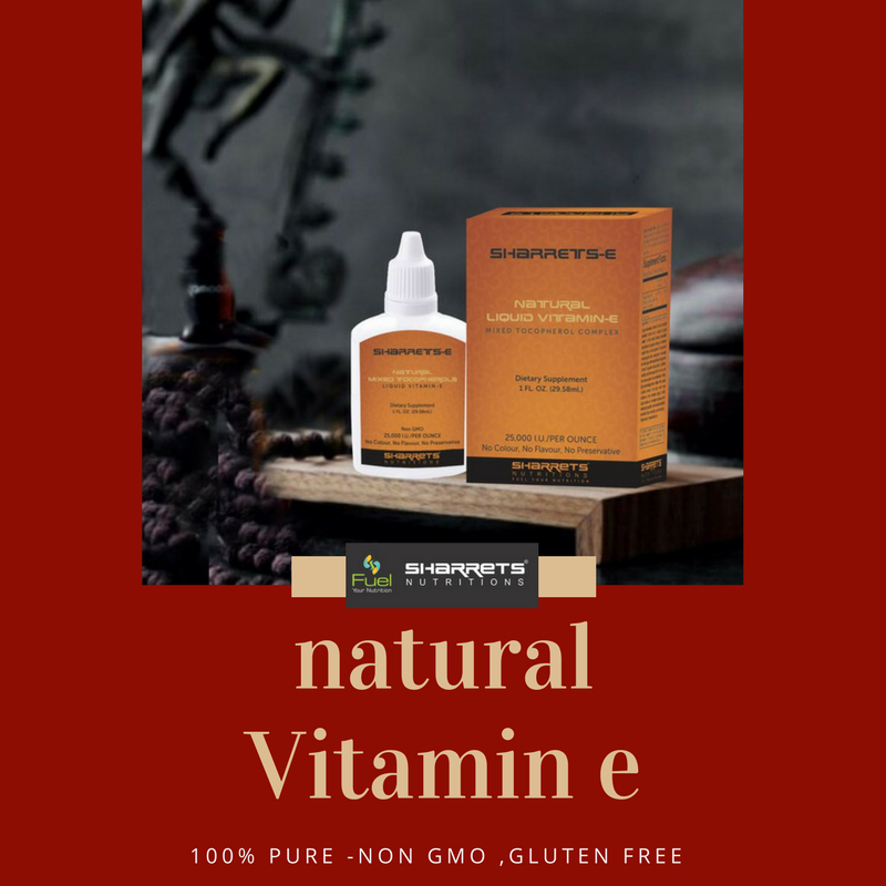 Natural Mixed Tocopherols - SHARRETS NUTRITIONS