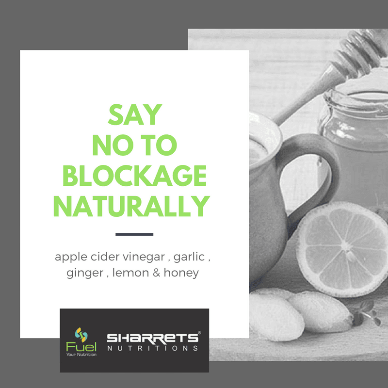 Apple cider vinegar garlic ginger lemon honey juice - SHARRETS NUTRITIONS