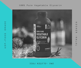 Sharrets Vegetable Glycerin (VG) is our highest quality,USP/EP/IPEC/FCC grade, Non GMO, Kosher, Halal, RSPO(MB)[Ideal for many Food & DIY projects, Benefits hair & skin] - SHARRETS NUTRITIONS
