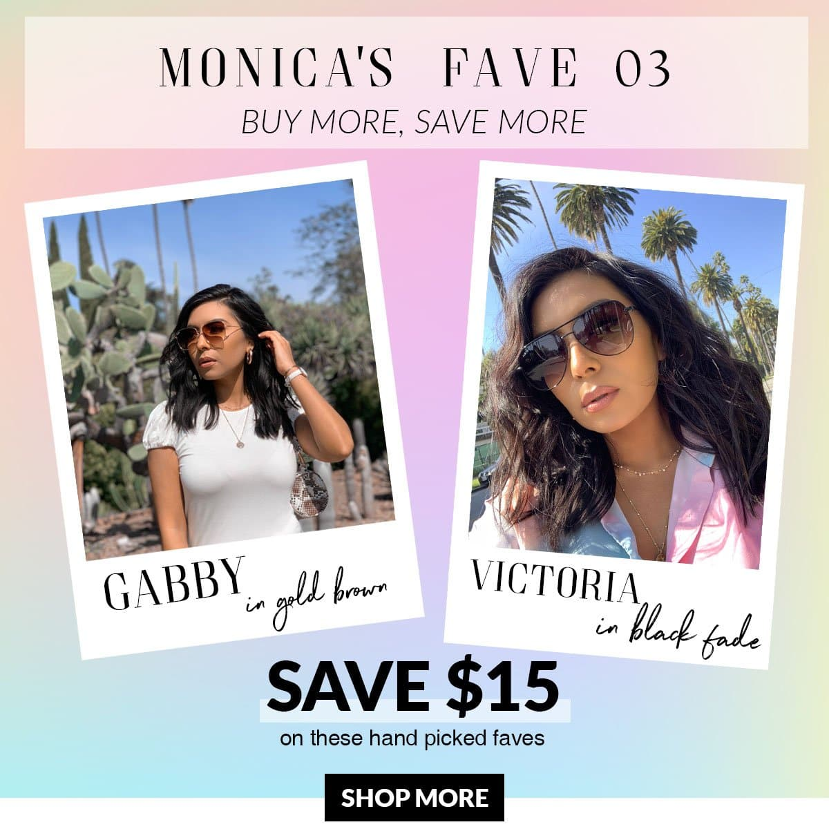 MONICA'S FAVES 03