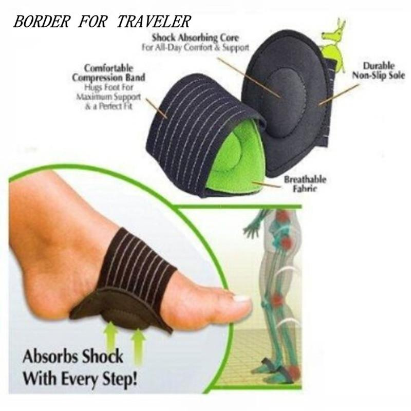 Foot Arch Support Orthopedic Insoles - 2 pcs