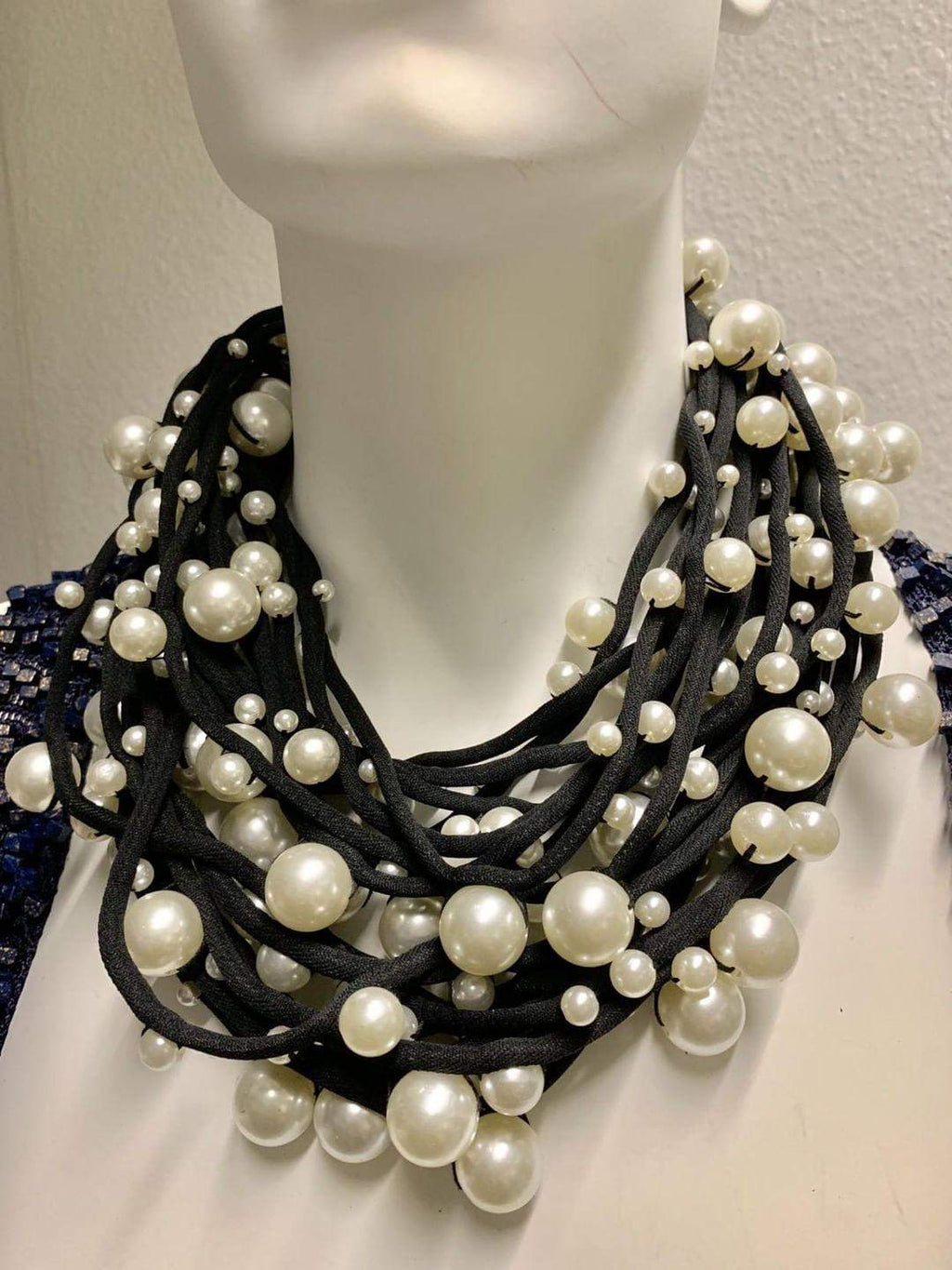 Multi Strand Pearl Necklace - Elan of Eulalia