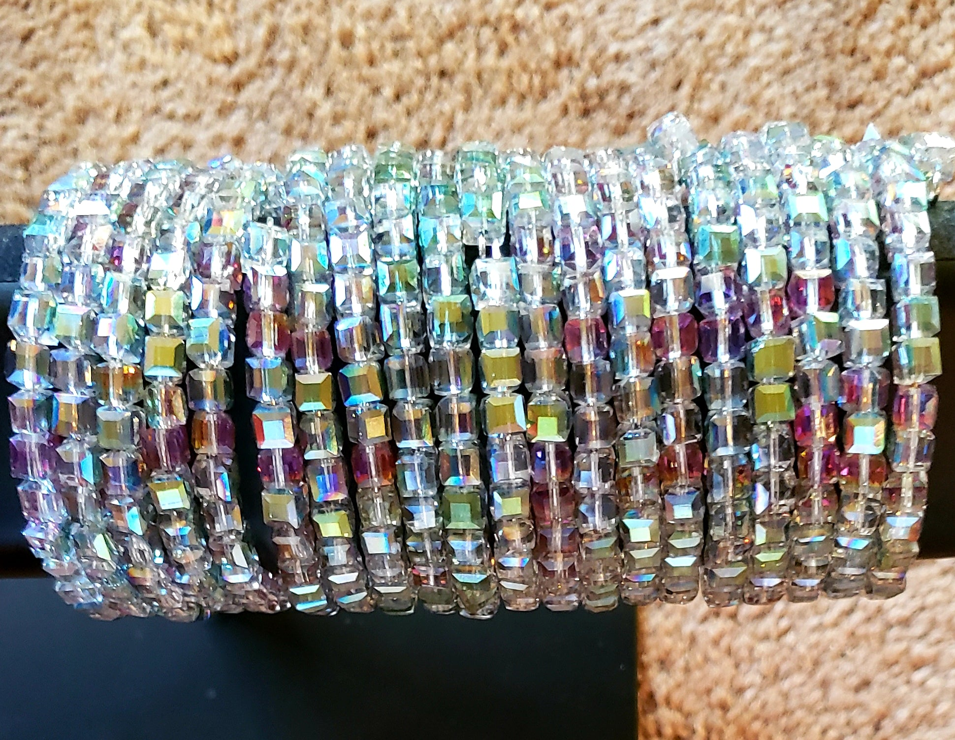 Wrap Around Crystal Bracelet - Elan of Eulalia