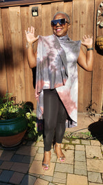 Load image into Gallery viewer, Convertible Long Shawl - Elan of Eulalia
