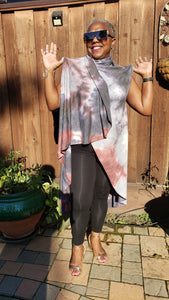 Convertible Long Shawl - Elan of Eulalia