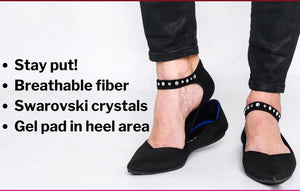 Swarovski Crystal Socks