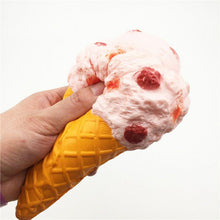 Load image into Gallery viewer, Wholesale Jumbo Ice Cream Squishy - 19cm