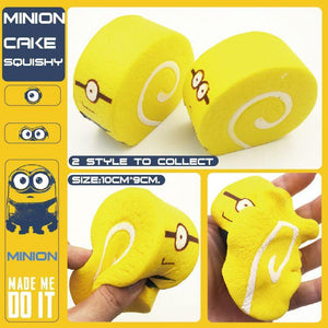 Wholesale Jumbo Minion Cake Squishy - 11cm