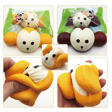 Wholesale Jumbo Monkey Squishy - 18cm