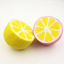 Load image into Gallery viewer, Wholesale Jumbo Lemon Squishy Mix Color - 10cm
