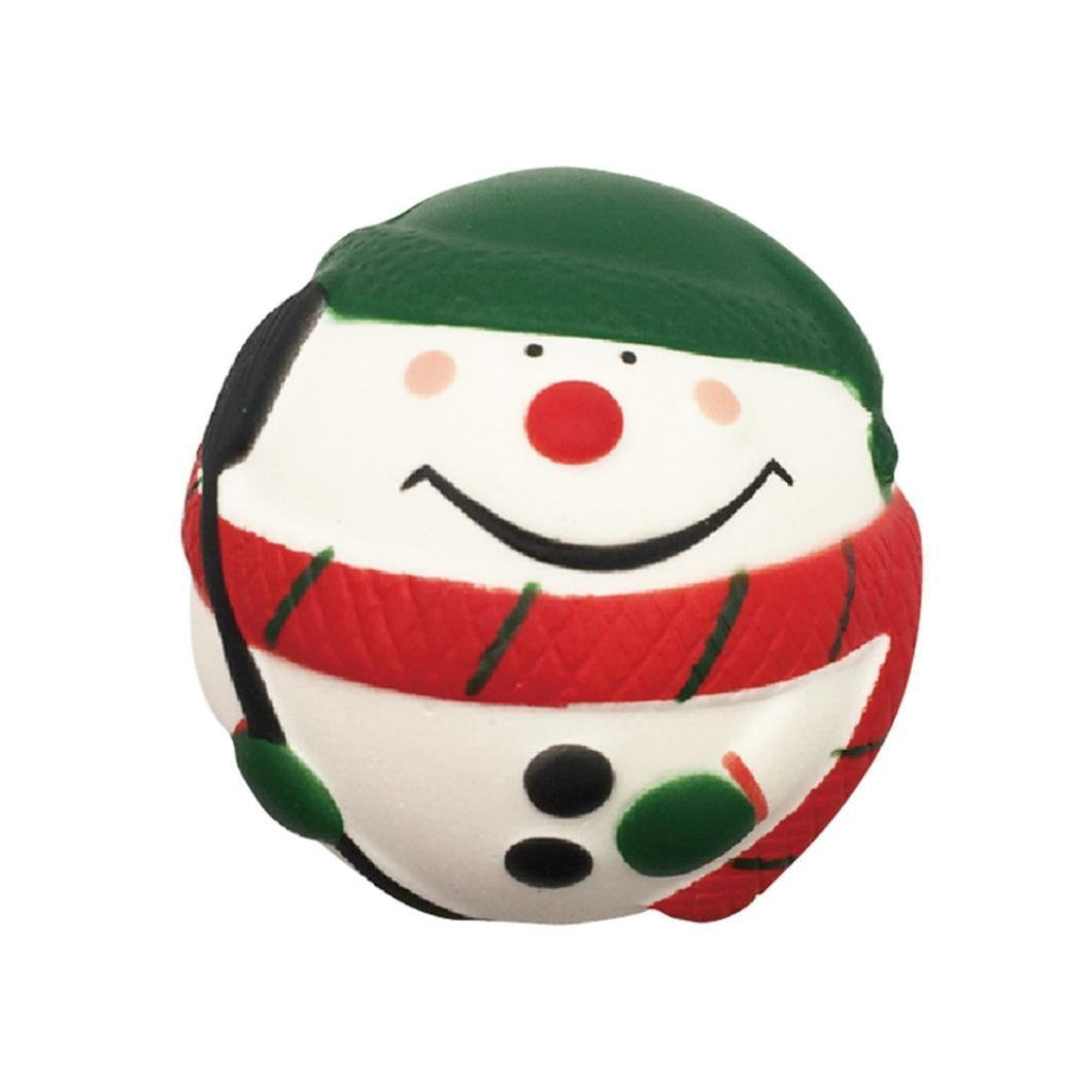 Wholesale Medium Decorative and Stress Reliever Christmas Ornament Squishy - 8cm