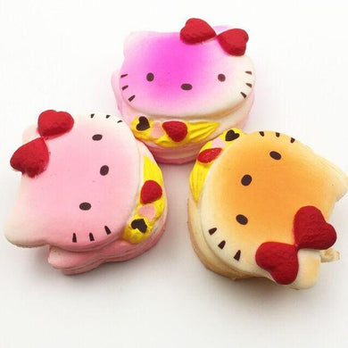 Wholesale Medium Hello kitty Bread Squishy - 7cm