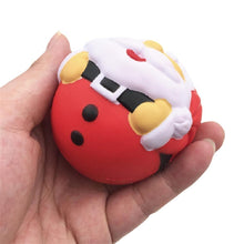 Load image into Gallery viewer, Wholesale Medium Santa Super Slow Rising Squishy Toy - 7cm
