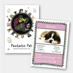 Pawtastic Pals Limited Edition Easter Collection Cards