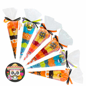 Halloween assorted cone 225g - 1unit