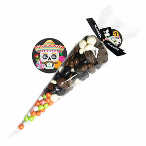 Halloween Fancy mix cone + sixlets - 300g